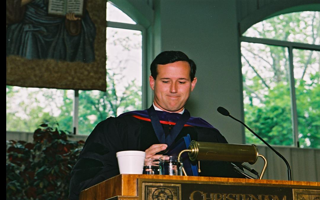 Senator Rick Santorum Commencement Address