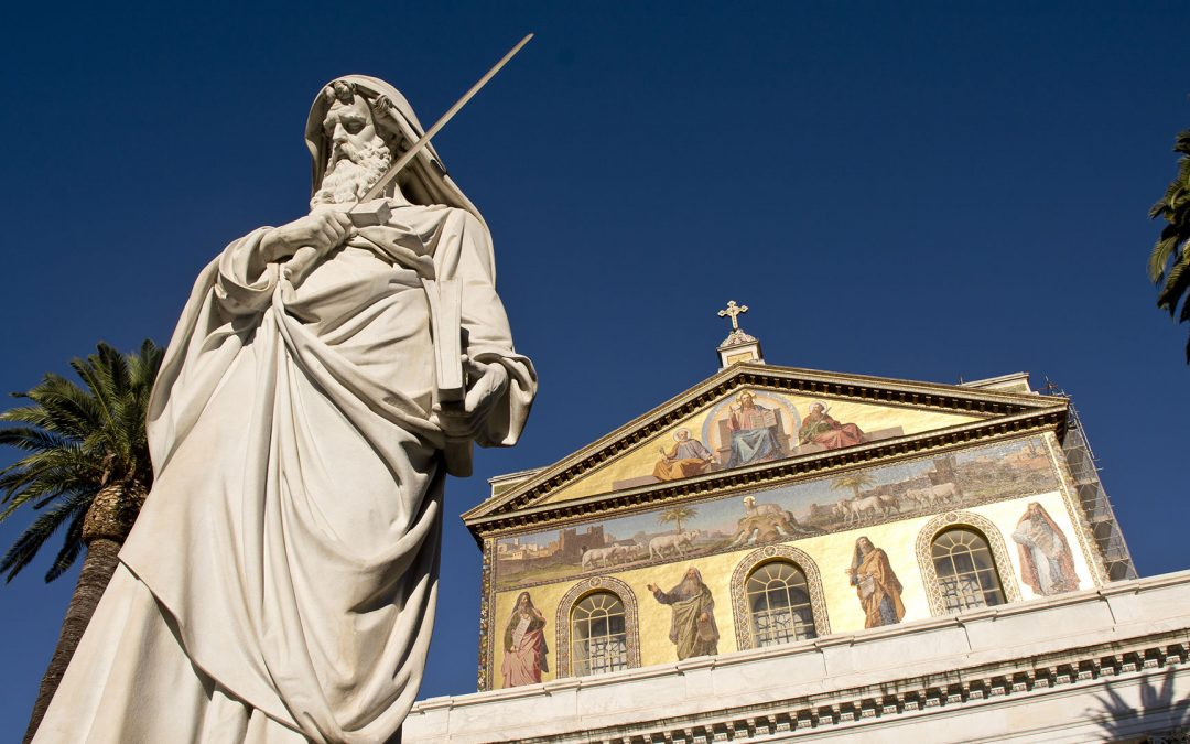 St. Paul: the Path to Rome