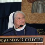 Mother Agnes Mary Donovan, S,V Commencement Address